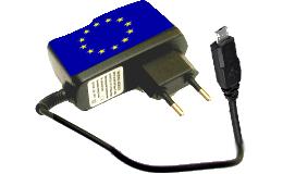 Caricabatterie universale micro-USB per cellulari