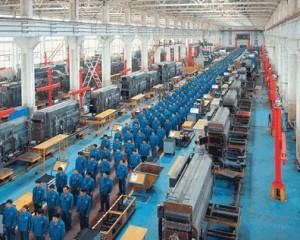 Stabilimenti di assemblaggio cinesi