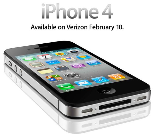 iPhone 4 CDMA con Verizon