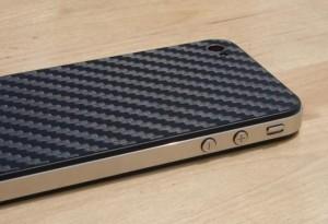iPhone 5 in fibra di carbonio