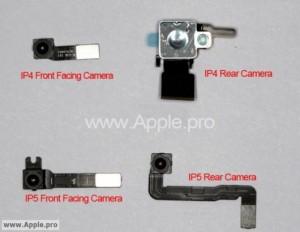 Possibili fotocamere di iPhone 5