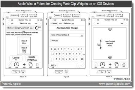 brevetto widget iOS