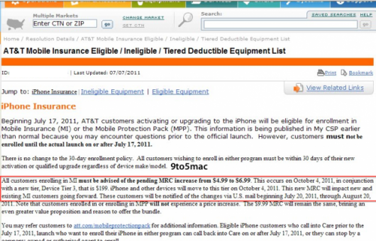 documento riservato AT&T
