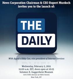 Invito alla presentazione di: The Daily