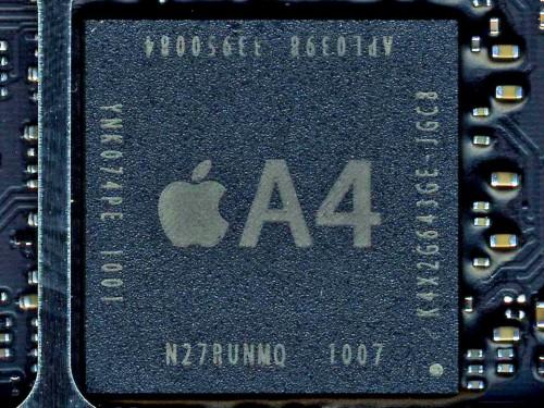 Chip A4 di iPhone 4 e iPad