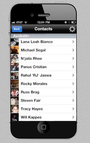 Screen shot da Nuance su iTunes