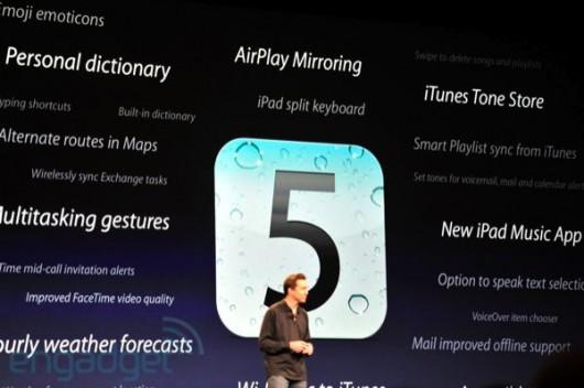 presentazione iOS 5